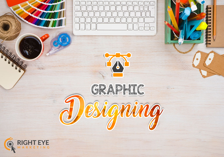 graphic designing services by Right Eye Marketing