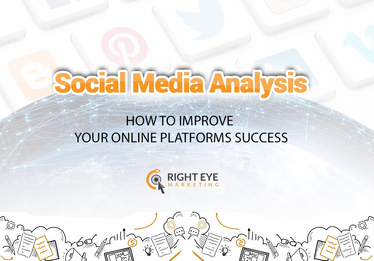 how to improve your social media platforms - Right Eye Marketing