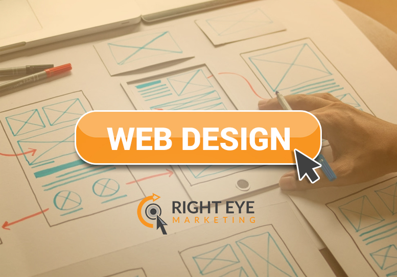 web design services at Right Eye Marketing