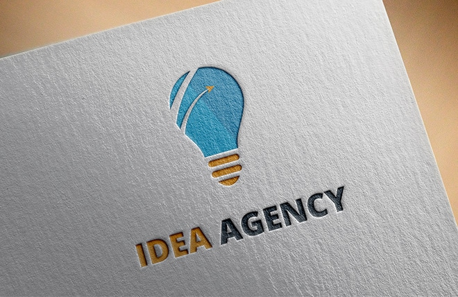 Idea Agency Logo Made by Right Eye Marketing