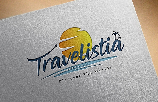 Travelistia Logo Made by Right Eye Marketing