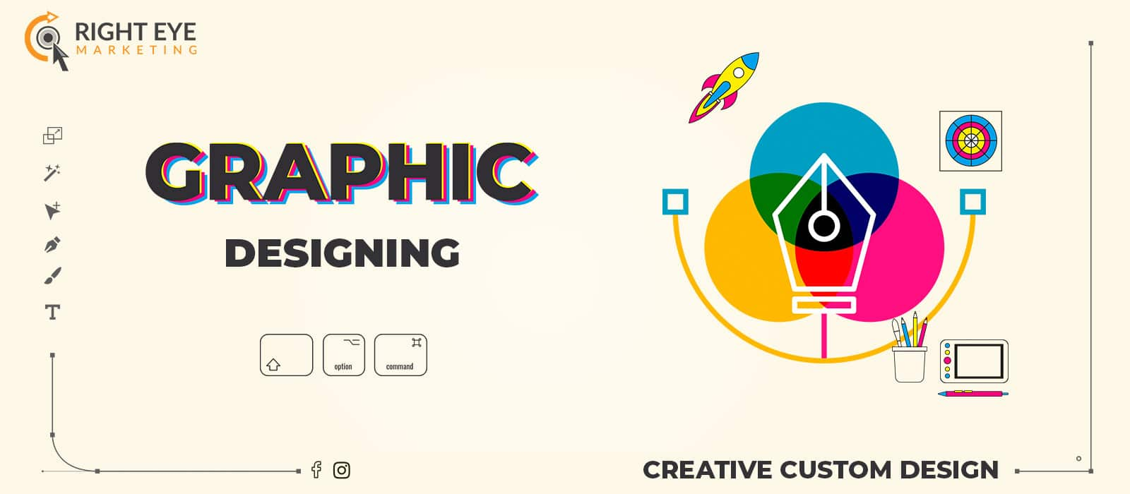 graphic designing by Right Eye Marketing