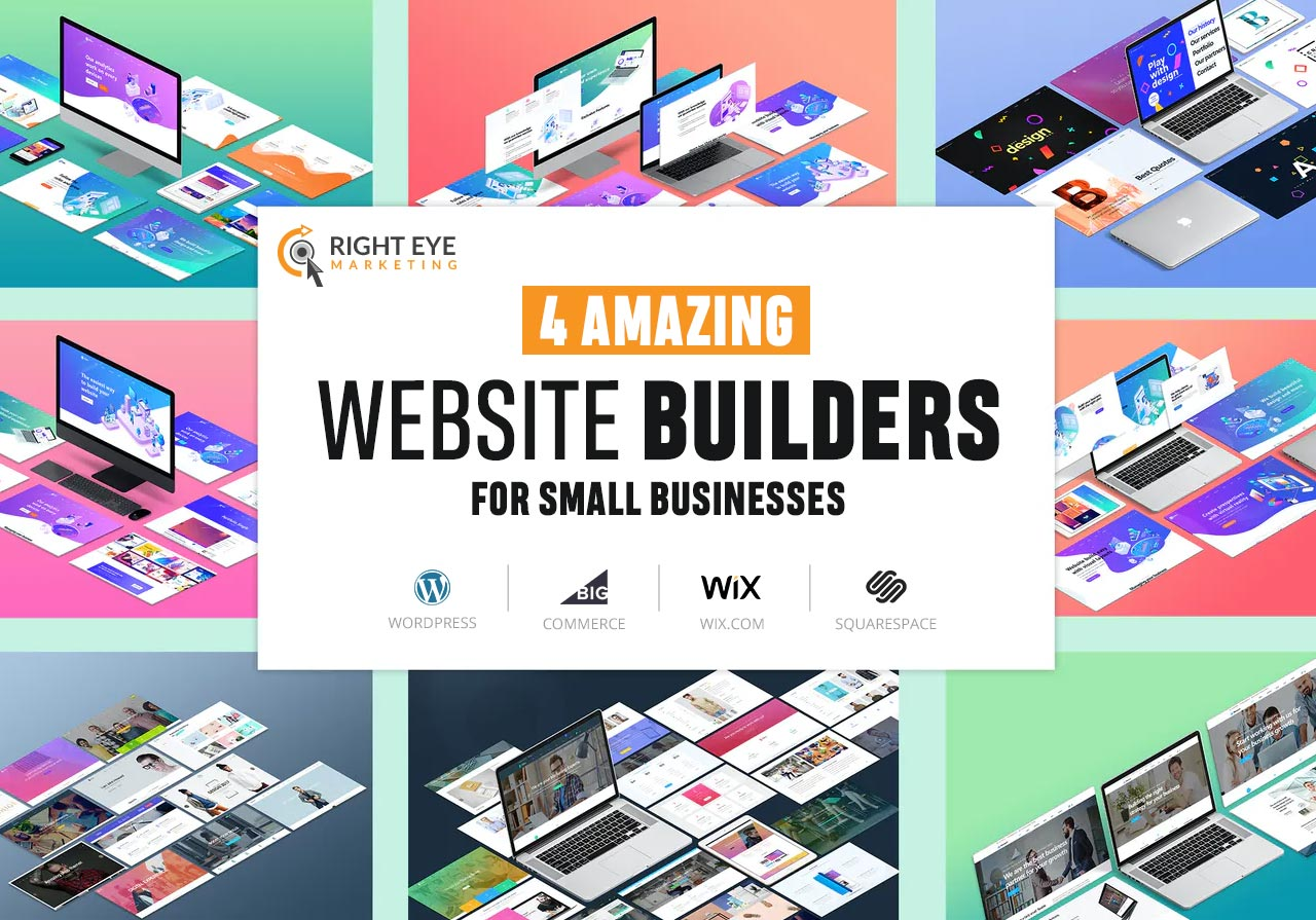4 Amazing Website Builders For Small Businesses
