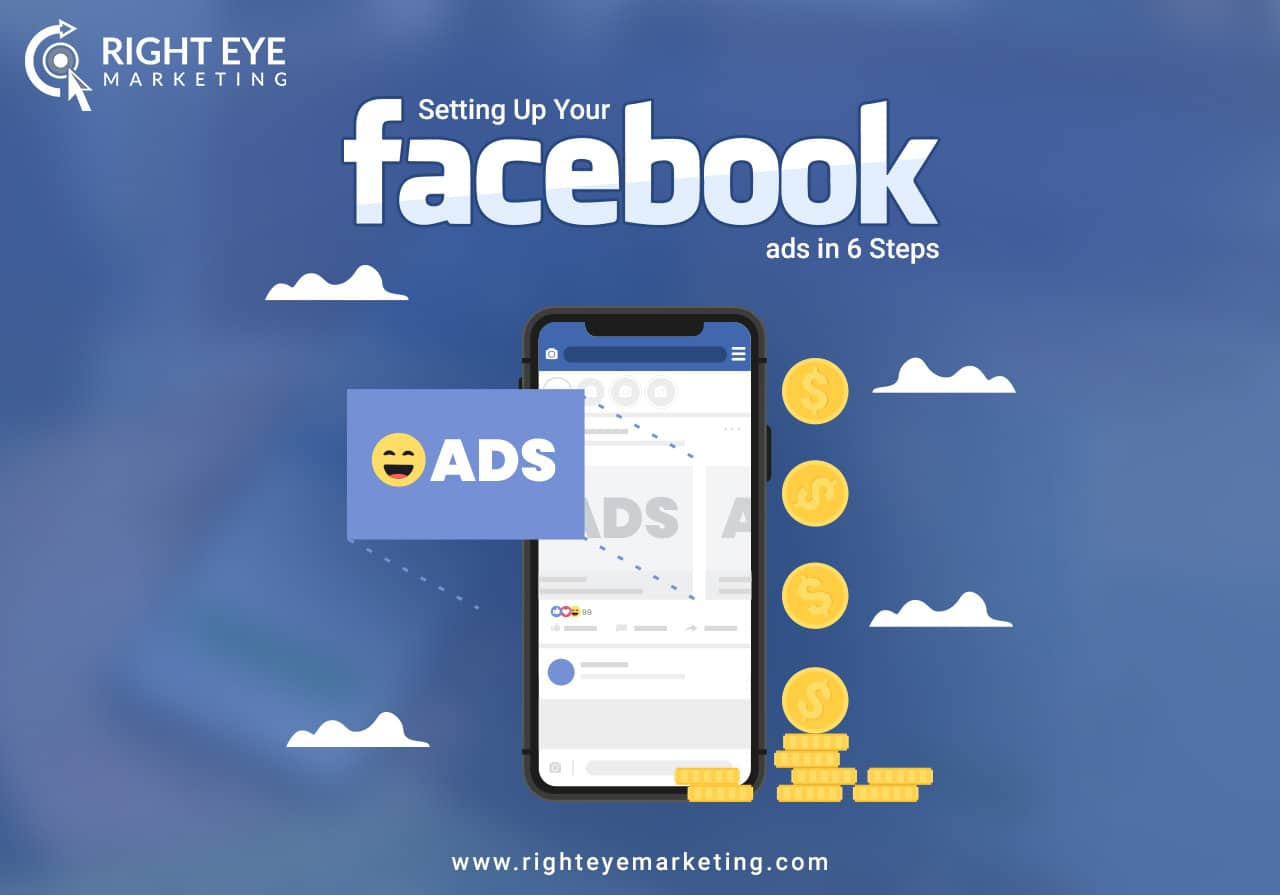 Setting Up Your Facebook ads in 6 Steps - Right Eye Marketing
